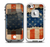 The Scratched Surface Peeled American Flag Skin for the iPhone 5-5s frē LifeProof Case