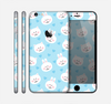 The Subtle Blue & White Faced Cats Skin for the Apple iPhone 6 Plus
