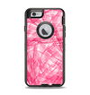 The Subtle Pink Watercolor Strokes Apple iPhone 6 Otterbox Defender Case Skin Set