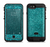 The Teal Glitter Ultra Metallic  iPhone 6/6s Plus LifeProof Fre POWER Case Skin Kit