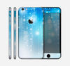 The Translucent Blue & White Jewels Skin for the Apple iPhone 6 Plus