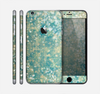 The Unfocused Green & White Drop Surface Skin for the Apple iPhone 6 Plus