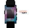 The Vibrant Colored Abstract Cells Skin for the Pebble SmartWatch
