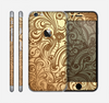 The Vintage Antique Gold Vector Pattern Skin for the Apple iPhone 6