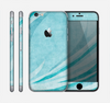 The Vintage Blue Swirled Skin for the Apple iPhone 6