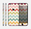 The Vintage Summer Colored Chevron V4 Skin for the Apple iPhone 6