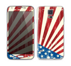 The Vintage Tan American Flag Skin For the Samsung Galaxy S5