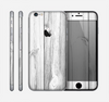 The White & Gray Wood Planks Skin for the Apple iPhone 6