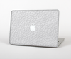 "The White Leather Texture Skin Set for the Apple MacBook Pro 13"" with Retina Display"