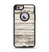 The White Painted Aged Wood Planks Apple iPhone 6 Otterbox Defender Case Skin Set