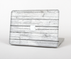 "The White Wood Planks Skin Set for the Apple MacBook Pro 13"" with Retina Display"
