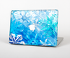 "The Winter Abstract Blue Skin Set for the Apple MacBook Pro 13"" with Retina Display"