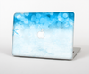 "The Winter Blue Abstract Unfocused Skin Set for the Apple MacBook Pro 13"" with Retina Display"