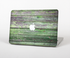"The Wooden Planks with Chipped Green Paint Skin Set for the Apple MacBook Pro 13"" with Retina Display"