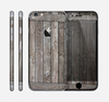 The Wooden Wall-Panel Skin for the Apple iPhone 6