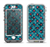 The Worn Dark Blue Checkered Starry Pattern Apple iPhone 5-5s LifeProof Nuud Case Skin Set