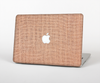 "The Woven Burlap Skin Set for the Apple MacBook Pro 13"" with Retina Display"