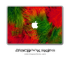 Fuzzy Feathers MacBook Skin
