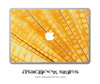 Gold Wing MacBook Skin