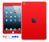 Solid Red iPad Skin