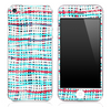 Blue Mesh V5 Skin for the iPhone 3gs, 4/4s or 5