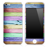 Neon Wood Planks V5 Skin for the iPhone 3gs, 4/4s or 5