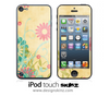 Flowerland iPod Touch 4th or 5th Generation Skin