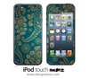 Green Lace Pattern iPod Touch 4th or 5th Generation Skin