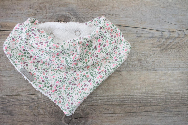 Bandana Bib - Daisy Bloom