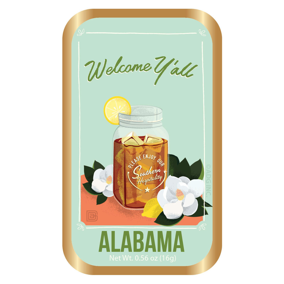 Welcome Y'All Alabama - 0001A