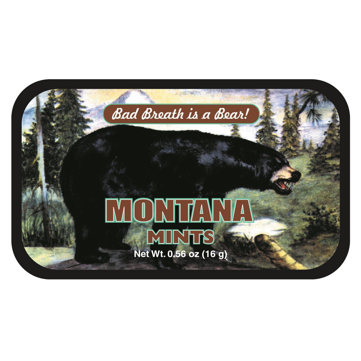 Black Bear Bad Montana - 0086S
