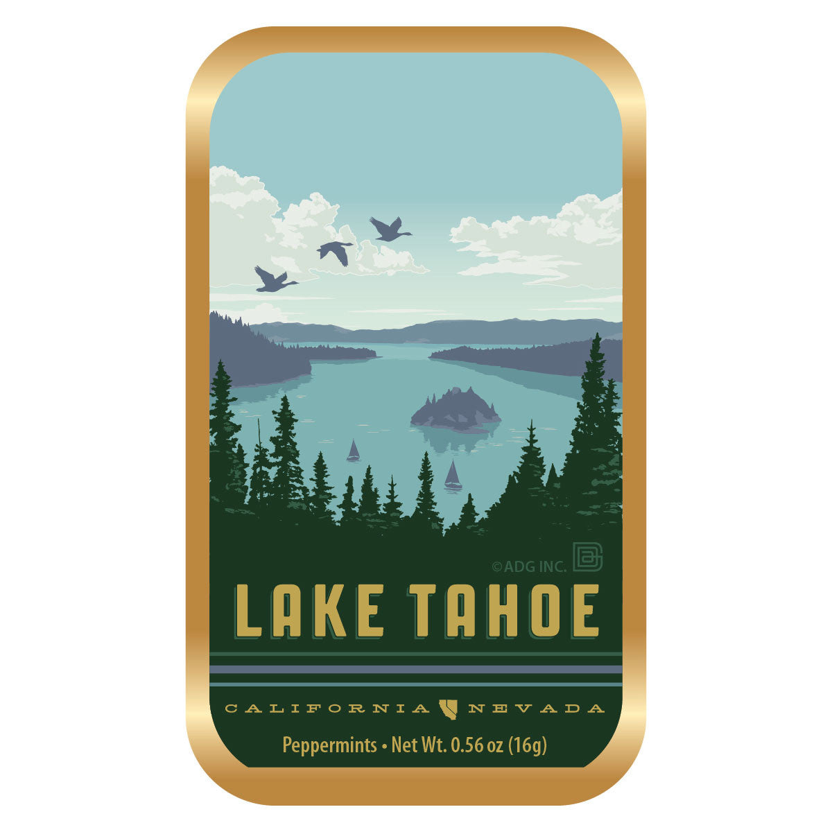 Lake Tahoe - 0127A