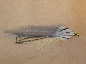 beautifully tied Gray Ghost streamer fishing fly from Rangeley Maine Fly Shop