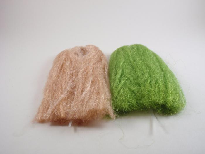sparkle emerger yarn from Rangeley Maine fly fishing shop