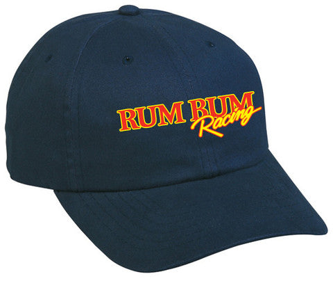 Rum Bum Racing - Brushed Cotton - Hat - Navy