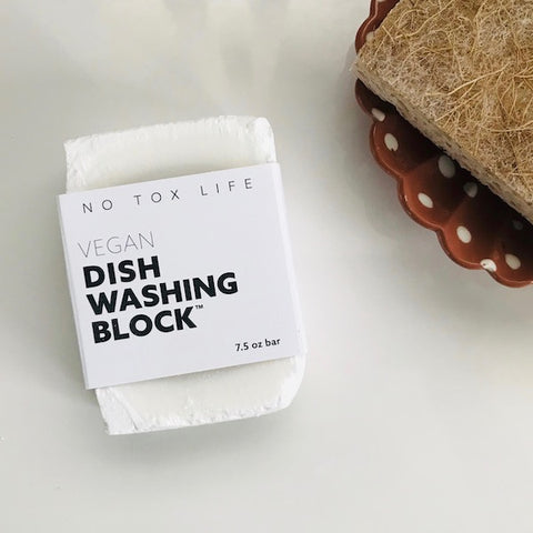 Zero Waste Dish Washing Block