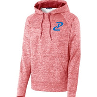 PC Performance Hoody - Red Heather/Royal