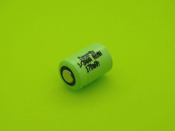 1/3 AAA 170mAh NIMH FLAT TOP CELL