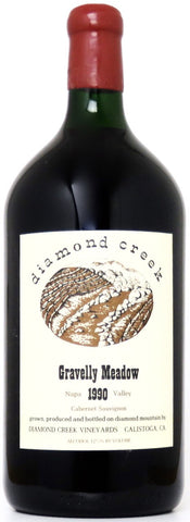1990 Diamond Creek Gravellay Meadow Cabernet Sauvignon Napa Valley Kalifornien/3 Liter Flasche