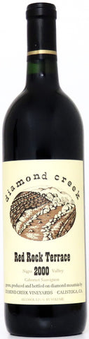 2000 Diamond Creek Red Rock Terrace Cabernet Sauvignon Napa Valley Kalifornien