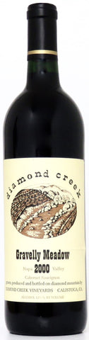 2000 Diamond Creek Gravellay Meadow Cabernet Sauvignon Napa Valley Kalifornien