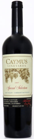 1997 Caymus Special Selection Cabernet Sauvignon Napa Valley Kalifornien