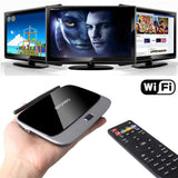 Android 4.4 OS RK3188 HDMI TV Box with AV USB TF Card Slot UK Plug
