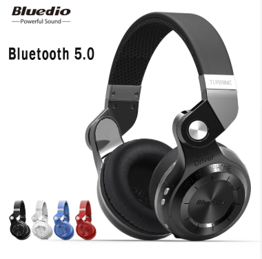Original Bluedio T2S bluetooth headphones with microphone wireless headset bluetooth for Iphone Samsung Xiaomi headphone - SmartwarePro