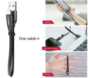 "3 in 1 Portable 9"" USB Data Cable for Apple IOS - SmartwarePro"
