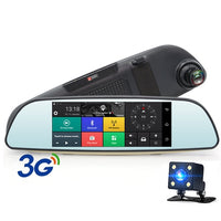 Touch Screen Car DVR Dash Cam Dual Lens Camera (1080P HD) - SmartwarePro