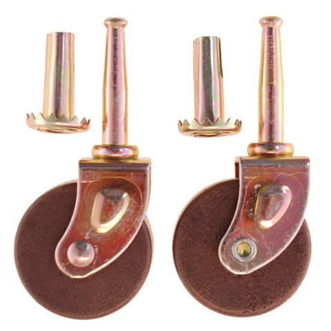Wheels (Casters) for Furniture (set of 2)