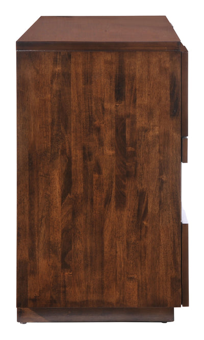 San Marino Double Dresser Walnut