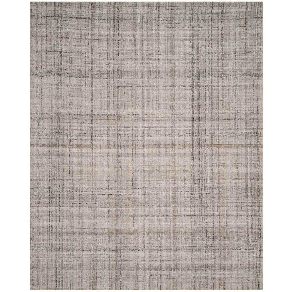 Abstract Camel/Black Area Rug