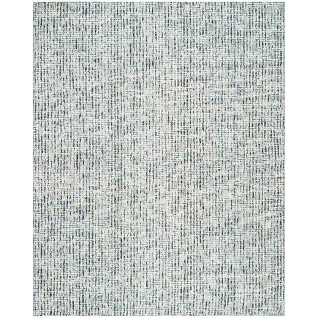 Abstract Blue/Charcoal Area Rug